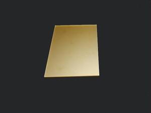 【単品樹脂版】れたぷれ!(1枚)(レザー刻印用)1.5mm厚