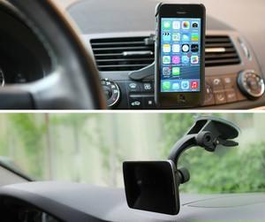 【6/6sPLUS用ケース】無料プレゼント【iPhone6/6sPLUS用】XVIDA車載用ワイヤレス充電セット