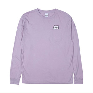 RIPNDIP - Lord Nermal Pocket L/S (Light Purple)