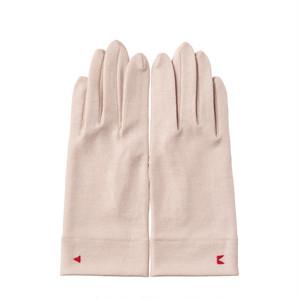【手袋】126パールベージュ/ウール100%/手が細くキレイに見える