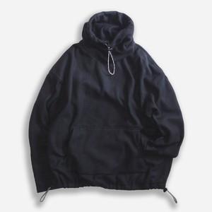 WCH Fleece Mock Turtle Pullover Shirts -Black