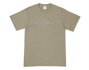 WHIMSY / SIXSTAR LOGO TEE -DUTY BROWN-