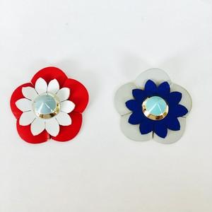 花ワッペン(大)✴︎2個セット