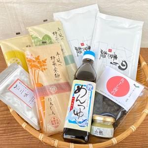 山椒香る 彩り麺セット(4500円)
