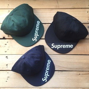 【New】Supreme Visor Label 6-Panel