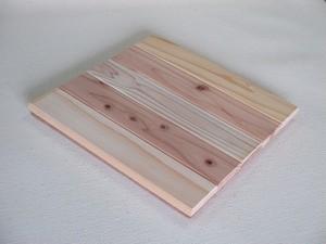 床敷き無垢ボード30cm角8枚入  (Y030)