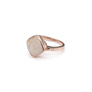 SINGLE STONE NON-ADJUSTABLE RING 017