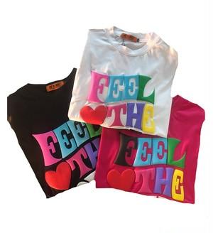 ★UNISEX FeelTheLove Tシャツ(White,Pink,Black) 68