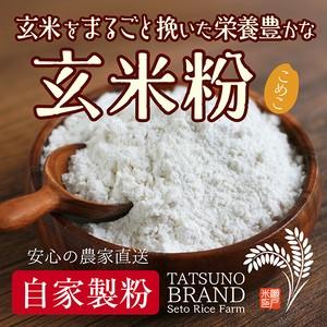健康を気にする人の 玄米粉 500g