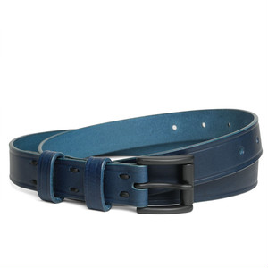 142ABE22 DC Leather belt 'skinny line' DC ベルト