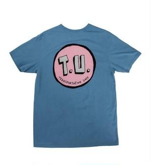 TU Classic T.U. Tee  Slate L  Transportation Unit russpope Tシャツ