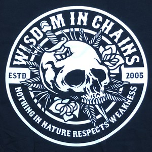 """WISDOM IN CHAINS """"Skull And Dagger"""""""