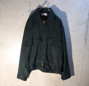 70s Dark green work jacket