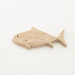 OBI puzzle (katsuo) 飫肥杉パズル(カツオ)