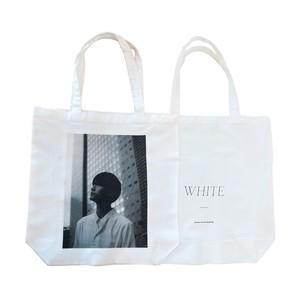"""WHITE""トートバッグ"