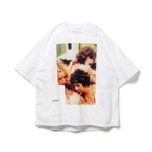 TIGHTBOOTH 3PM S/S T-SHIRT WHITE