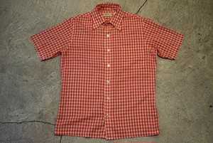 USED L.L.bean S/S Shirt 70s S-M S0478