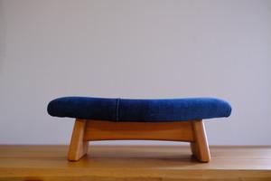 カイハラデニムxゴイチA 座椅子 *リリース限定* 木部チェリー材