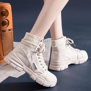 【シューズ】カジュアル合わせやすい切り替えブーツ26674175