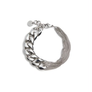 Asymmetry chain bracelet