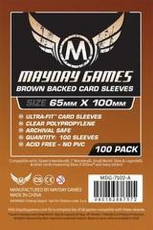 【スリーブ】7wondersサイズ 65×100mm / mayday games(7wondersなど)