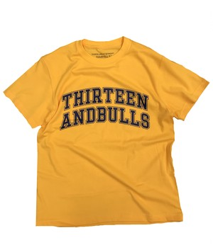 COLLEGE TEE(YELLOW)