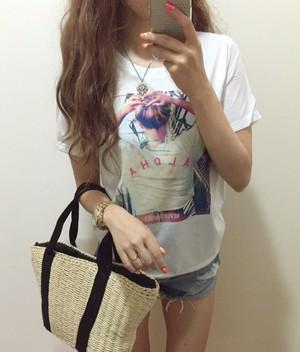 2900→1500 SUMMERプリントTシャツ
