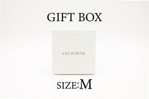 cocosaraギフトbox Mサイズ