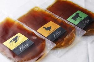 至極の雫 コンソメスープ3種類セット 各1パックの3パック入り  2名様分