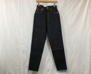"LENO "" LUCY  HIGH WAIST TAPERED JEANS <NON WASH >"""