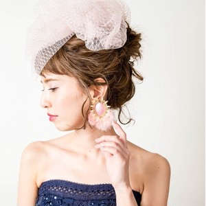 Sweet Campbell 4th Collection(ファーピアス・ピンク)