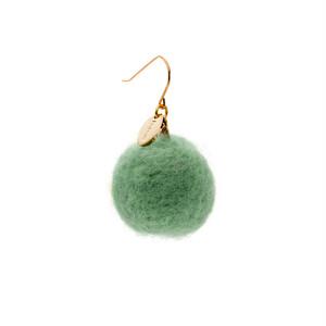 Felt Ball Hook - Emerald
