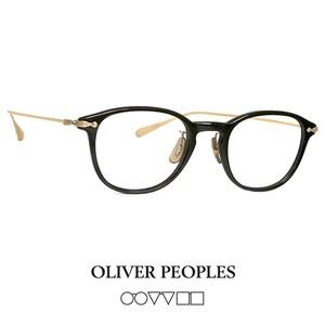 日本製 オリバーピープルズ OLIVER PEOPLES メガネ STILES bkag stiles bk/ag ウェリントン ボストン βチタン 眼鏡 フレーム