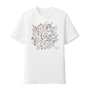 hy (otokonokoto) Rainbow dust T-shirt
