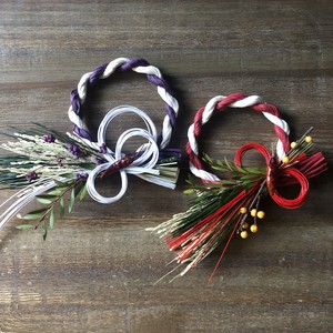 SHIMENAWA for New Year C (Red/Purple)