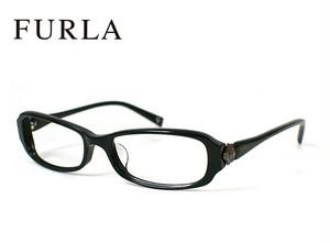 フルラ メガネ VU4762j 700 FURLA 眼鏡 ジャパンフィット モデル ブラック レディース 女性用