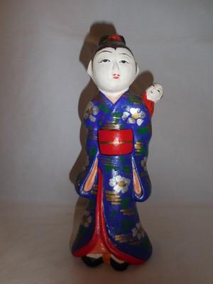 子守土人形 baby sitting pottery doll(No2)