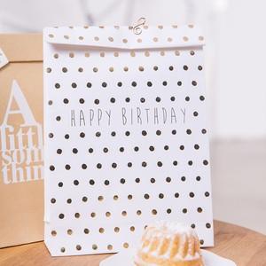 バースデイカード Paper Gift Bag 2pcs Happy Birthday!  #145
