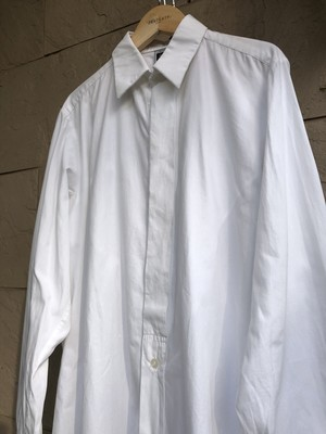 Old French white cotton shirts 2