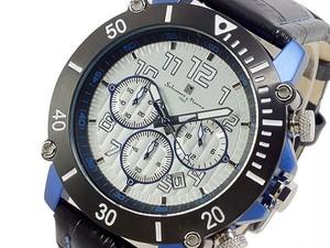 サルバトーレ マーラ SALVATORE MARRA クロノグラフ 腕時計 SM13115-SSSVBL
