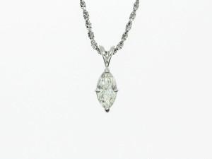 【PT900】1.010ct UP ダイヤモンドネックレス