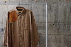 VINTAGE Abercrombie&Fitch work shirt(USED)