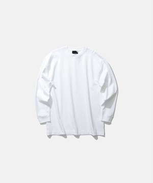 【ATON】SUVIN AIR SPINNING OVERSIZED L/S T-SHIRT
