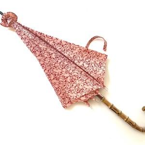 北欧デザイン日傘(晴雨兼用)| パゴダタイプ | daisy pink