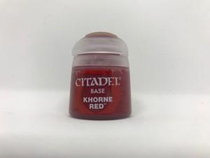 シタデルカラー BASE:KHORNE RED