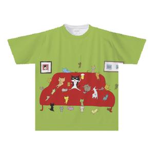 オリジナルTシャツ:門脇篤作「ねこソファ」