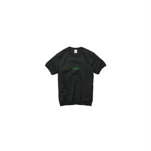 リブTシャツ ブラック