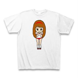 Irieキャラ手書き似顔絵体操着サンキューTシャツ