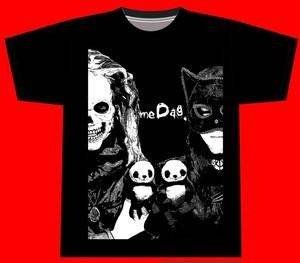 meDag. Tシャツ(黒)