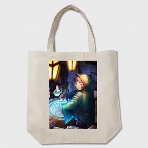 トートバッグ『魔法薬屋の工房』ベージュ